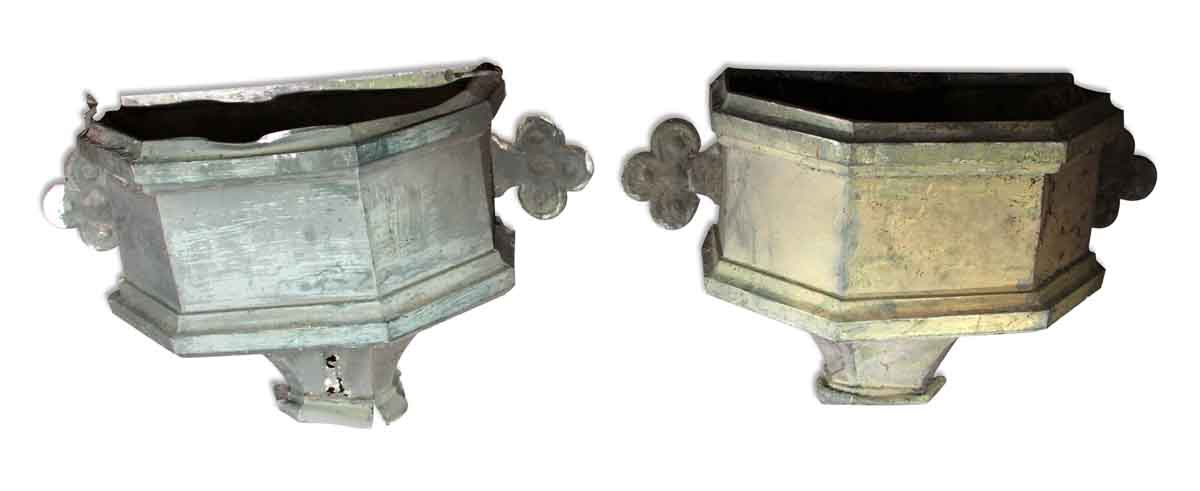 Antique Gutter Drop Outlet