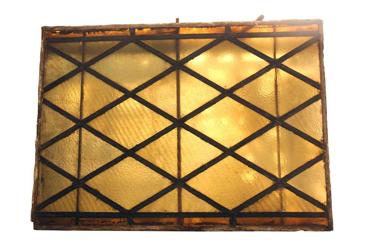 Original Antique Stained Glass Piece