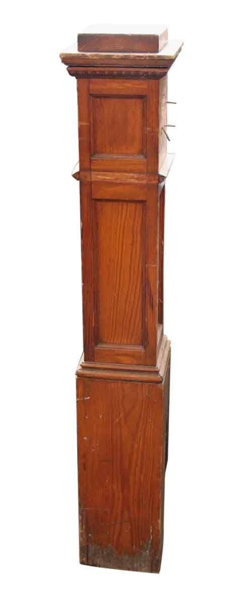 Original Brown Newel Post