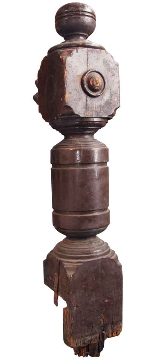 Antique Solid Newel Post