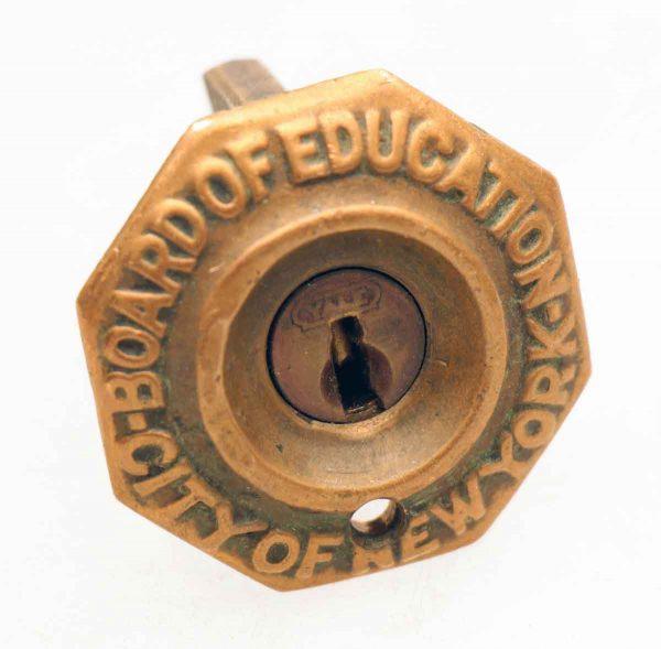 New York Board of Education Lock