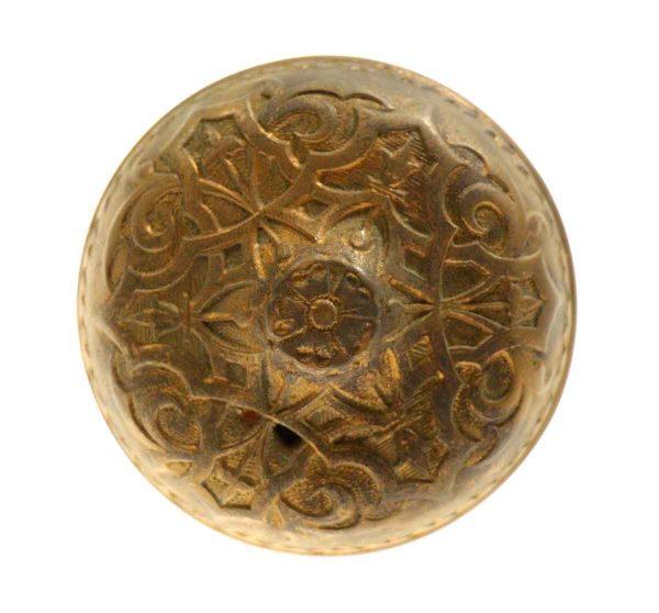 Three Fold Victorian Bronze Knob