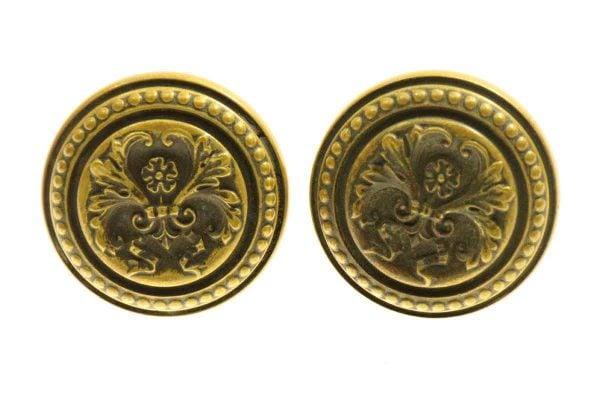 Italian Renaissance Bronze Knob Set