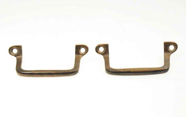 Set of Two Bronze Furniture Pulls