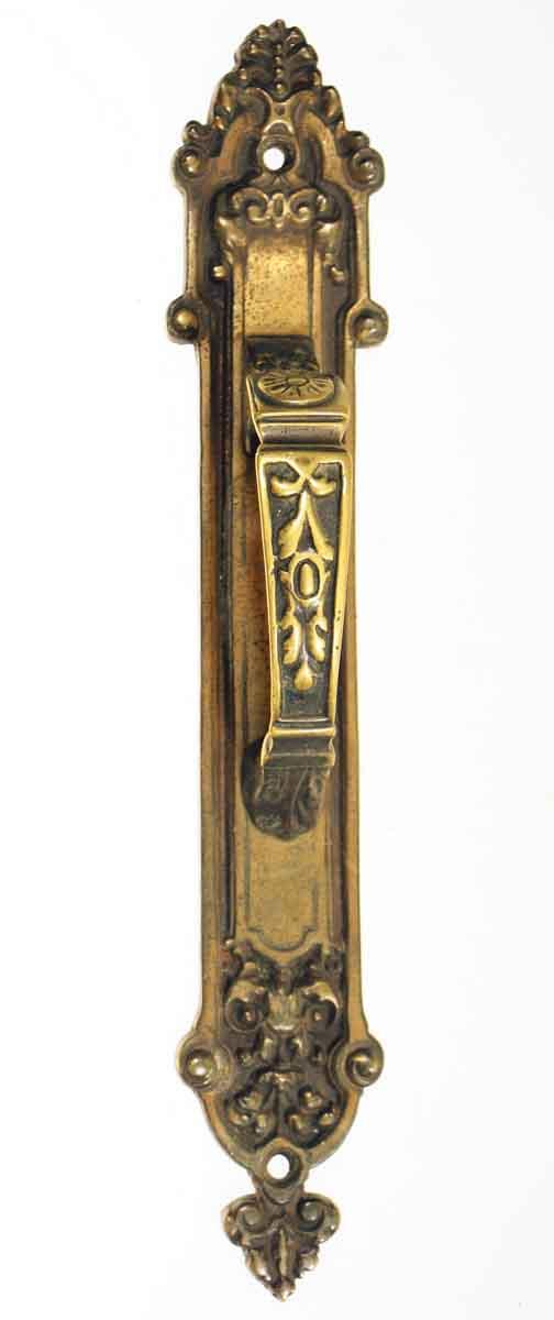Ornate Bronze Door Handle