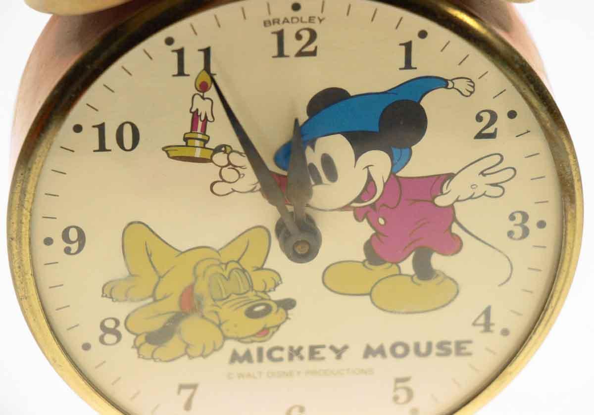 Bradley Vintage Mickey Mouse Clock | Olde Good Things