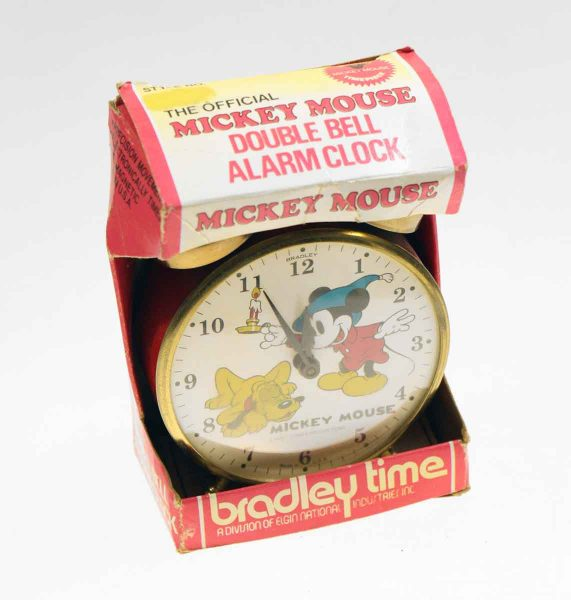 Bradley Vintage Mickey Mouse Clock