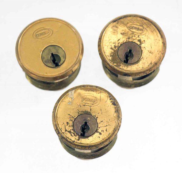 Bronze Corbin Lock Cylinder