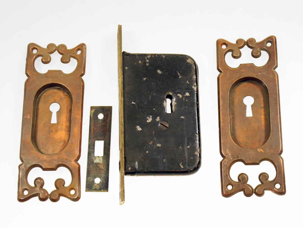 Pocket Door Lock Set