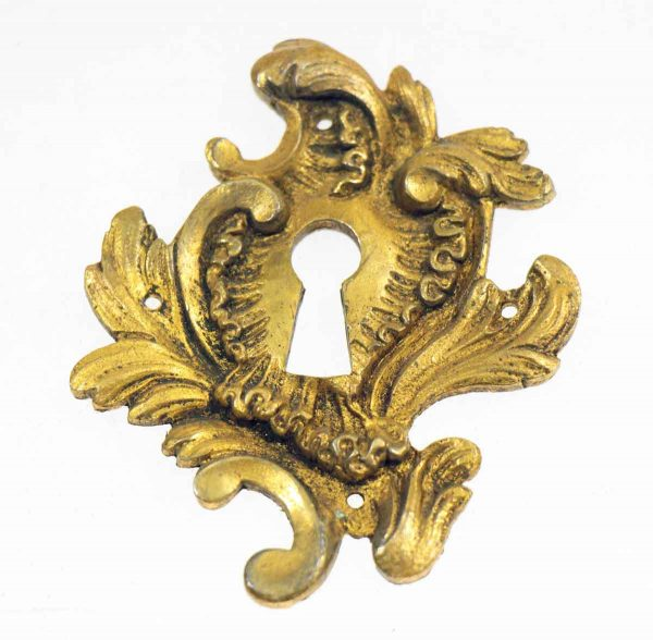 Ornate Gilded Keyhole Cover
