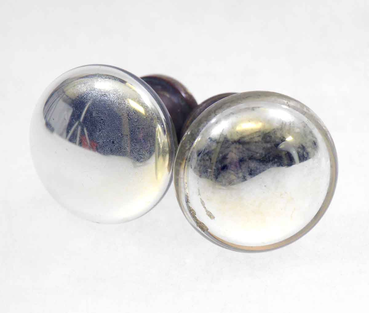 Mercury Glass Knob Set