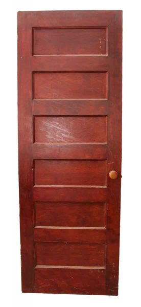 Stained Wooden Door