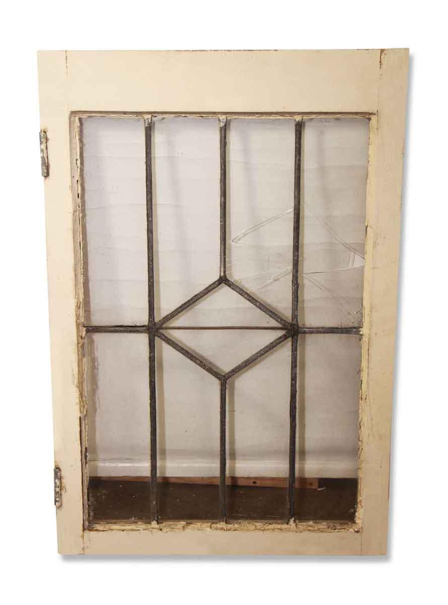 Leaded Diamond Glass Window from Tudor House
