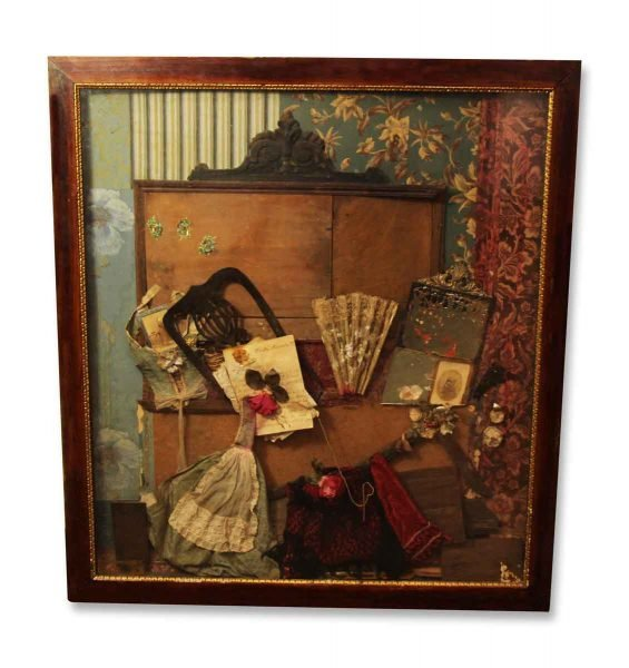 Framed Victorian Collage