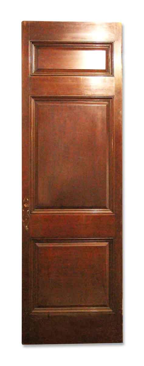 Three Paneled Interior Door