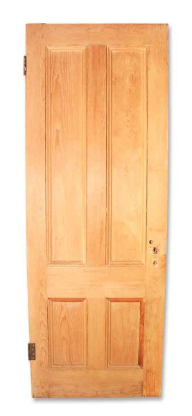 Unfinished Wooden Door