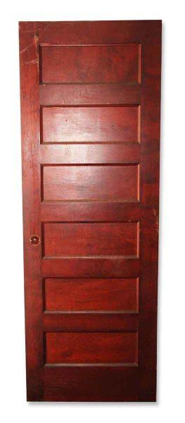 Antique Six Paneled Door