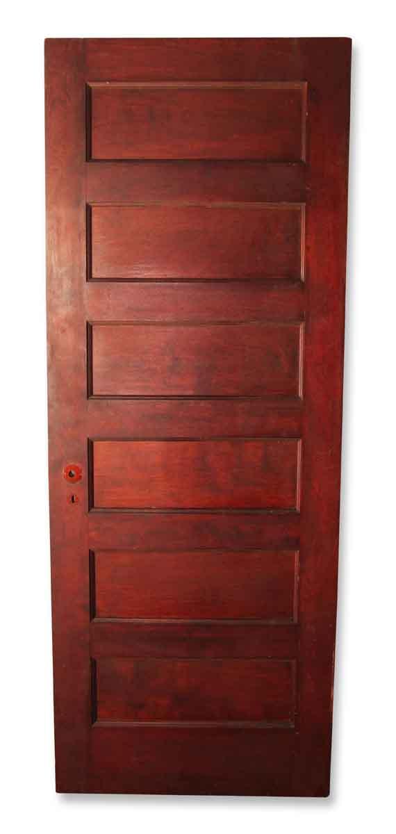 Six Paneled Door with Mirror