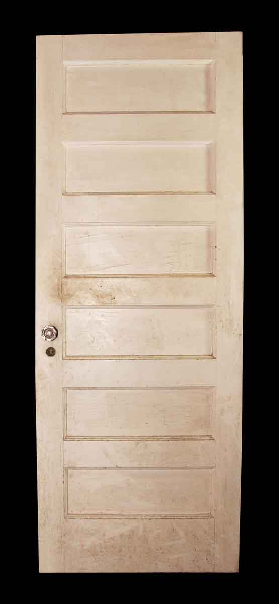 Six Paneled Door with White on One Side
