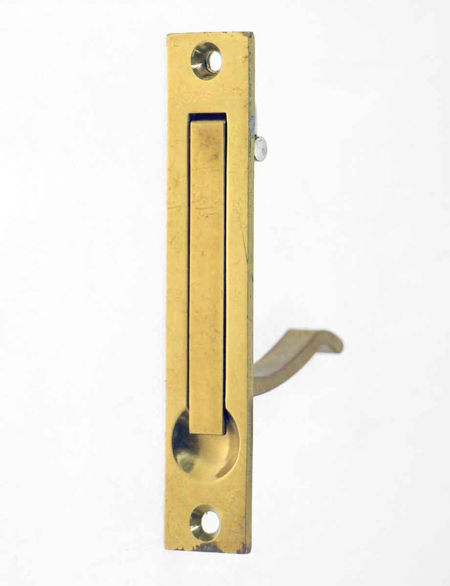 Brass Plated Pocket Door Hidden Pull