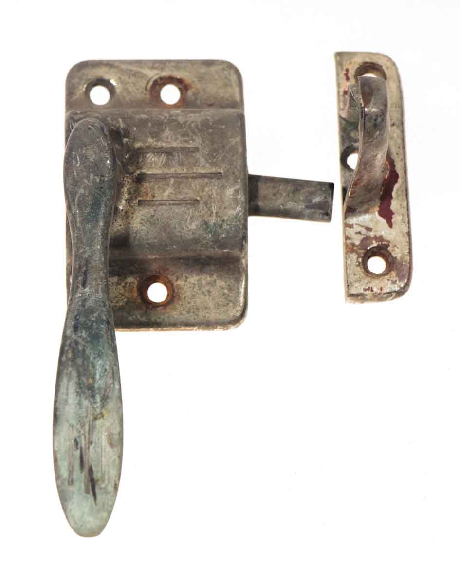 Nickel Antique Ice Box Latch