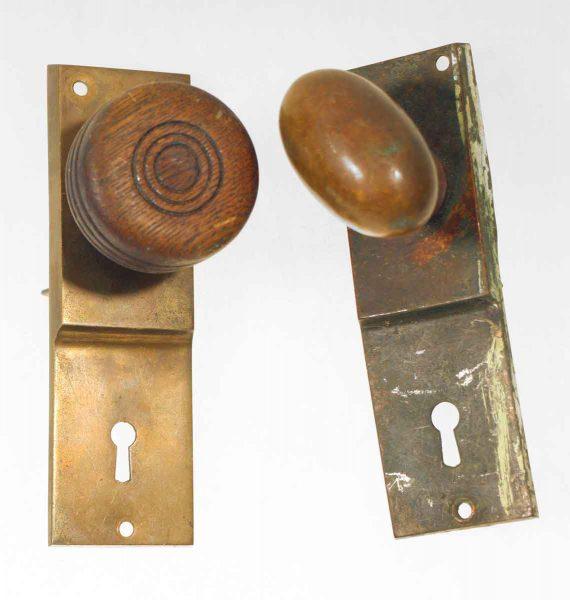 Antique Fixed Knob Set
