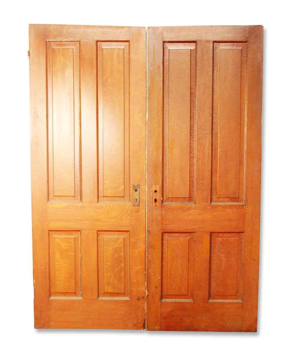 Pair of Wooden Double Doors