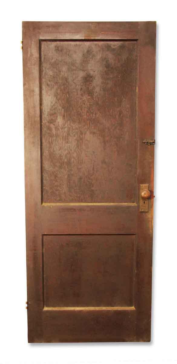 Dark Finish Interior Door