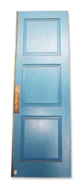Pair of Blue Pocket Doors
