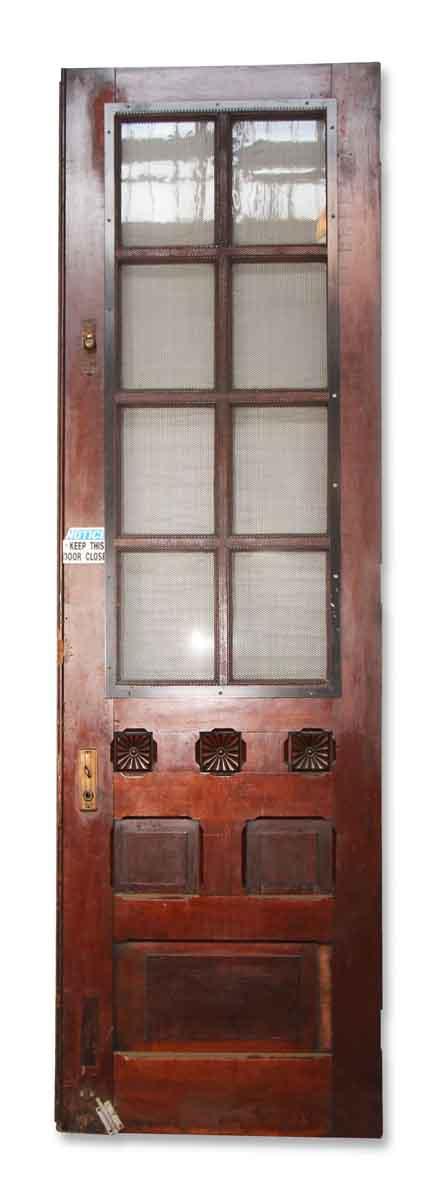 Heavy Duty Door with Glass Panel