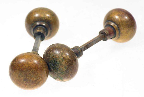Heavy Bronze Knob Set