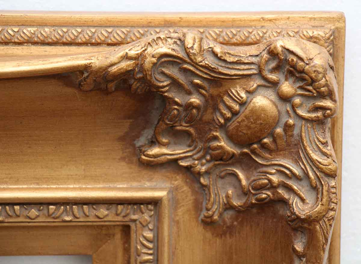 Antique Wood Amp Gesso Gilded Picture Frame Olde Good Things