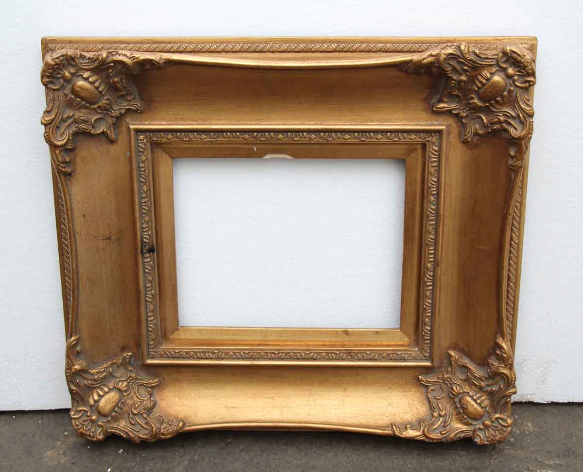 Antique wood gesso gilded picture frame olde good things wood gesso gilded picture frame jeuxipadfo Images