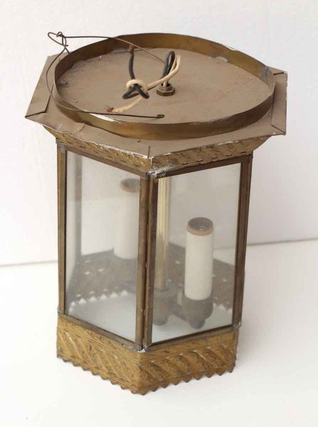 Bronze Lantern Brass Light