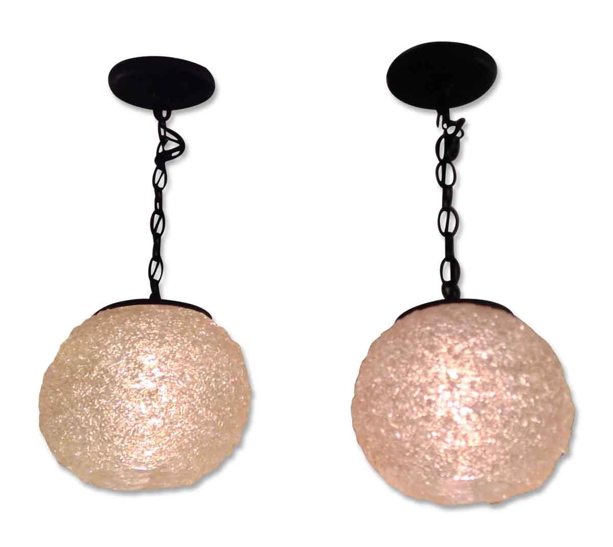 Acrylic Ball Mid Century Pendant Lights