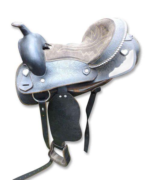 Black Pony Saddle