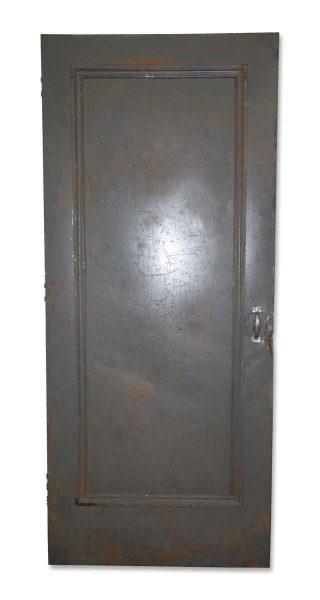 Industrial Steel Single Panel Door