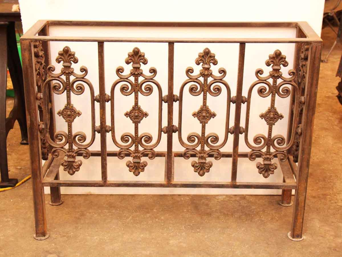 Original Cast Iron Victorian Console Table