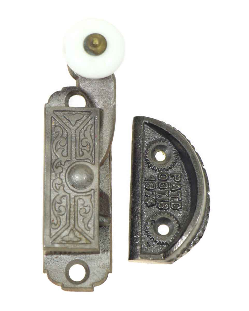 Ornate Victorian Window Latch