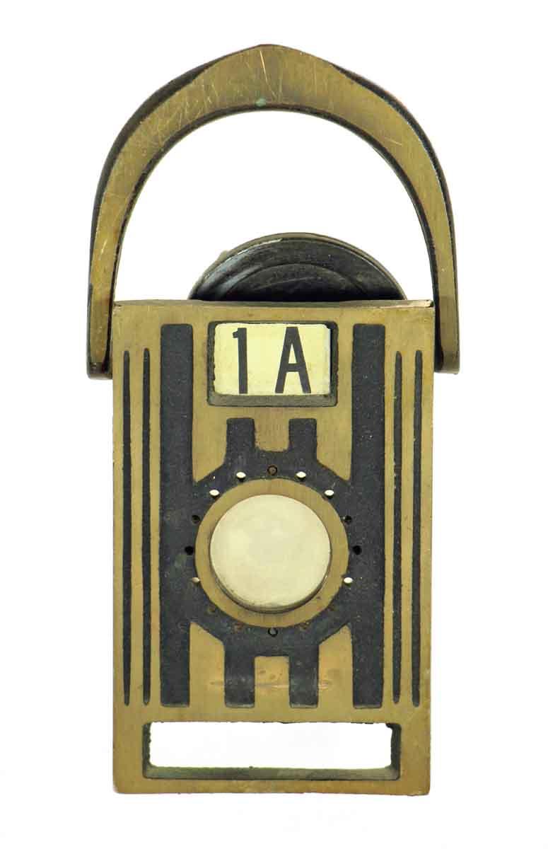 Bronze Door Knocker with Peephole