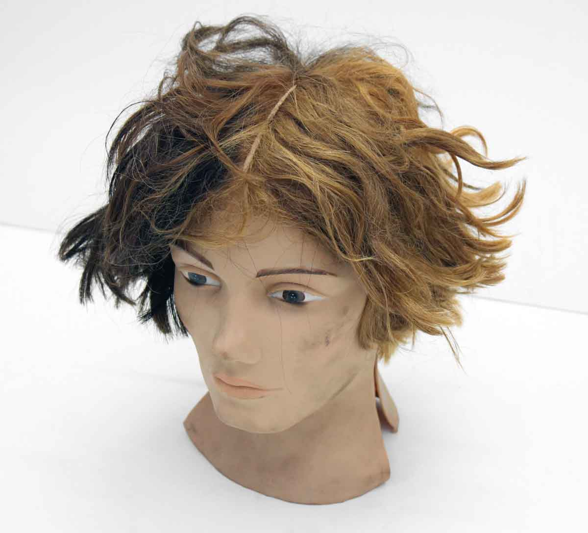 Vintage Beauty School Practice Wig Head