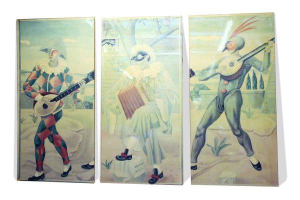 Gino Severini Sitwell Family Murals