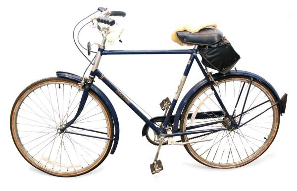 Dark Blue Vintage Bike