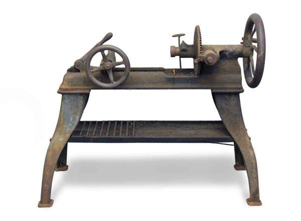 Antique Iron Lathe Machine