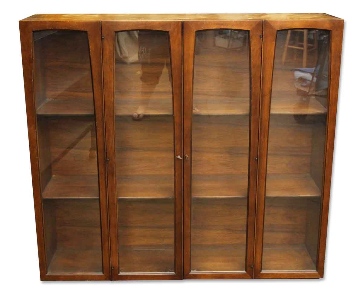 974 #A97B22  / Antique Furniture / Cabinets / Wooden Chest With Glass Doors wallpaper Wooden Doors With Glass Panels 42651200