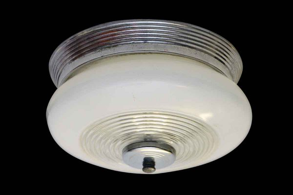 Flush Mount Chrome Kitchen or Bathroom Light