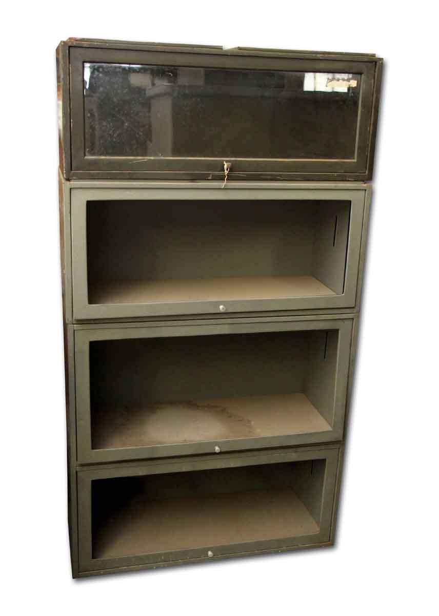 Metal Stackable Book Shelves Olde Good Things