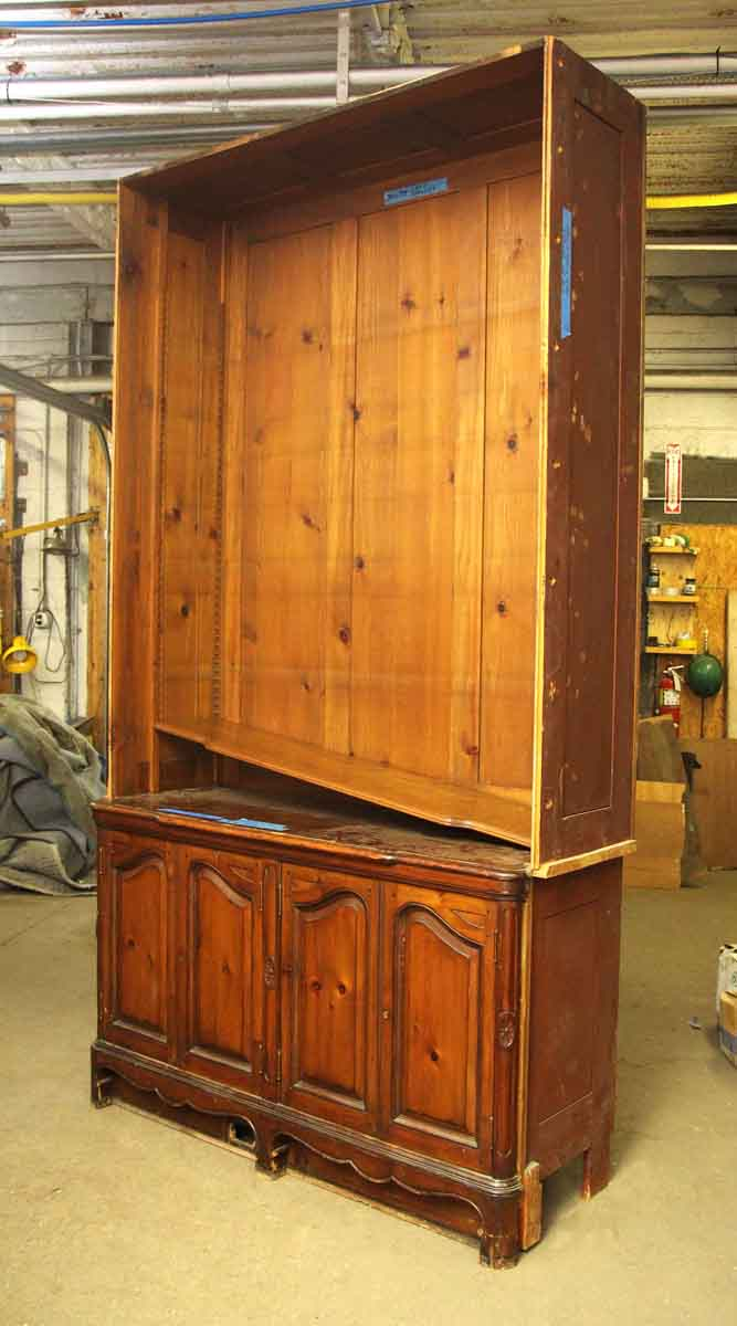 Salvaged large hutch olde good things - Vintage kitchen cabinets salvage ...
