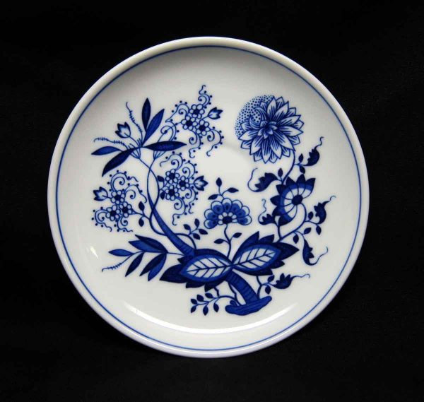 Hutschen Reuther Blue Onion Saucer Plate