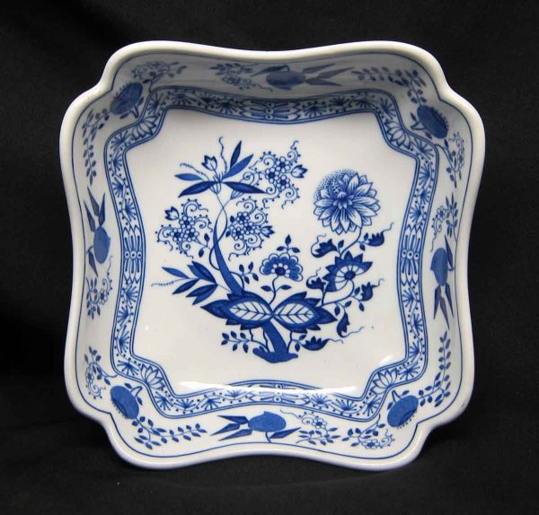 Hutschen Reuther Blue Onion Small Vegetable Bowl